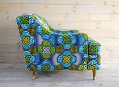 Inspiring interiors with African Wax Print
