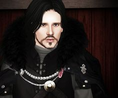 JON SNOW Game Of Thrones Part II by Natalie - Sims 3 Downloads CC Caboodle