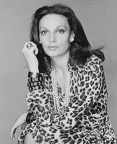 Diane Von Furstenberg Leopard Print Wrap Dress
