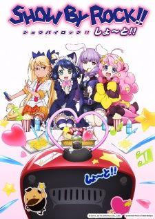 show by rock short temporada de animes de verao 2016