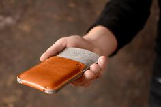 iPhone 6 Plus case NEW iPhone case sleeve wallet by cinnamoncocoon