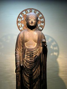 Buddha at the Tokyo National Museum.