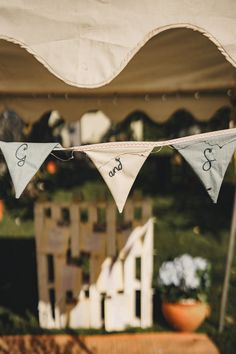 Personalised Bunting Marquee Wedding Home The Chamberlins Wedding Bunting, Marquee Wedding, Wedding Ceremony, Reception, Queen Albums, Personalised Bunting, Lovely Shop, Flower Market, Home Wedding