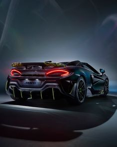 Special Edition McLaren Spider Takes Inspiration From an Arachnid - MotorTrend Automotive News, Automotive Industry, Mclaren Cars, Performance Cars, Car Pictures, The Dreamers, Evolution, Super Cars, Ferrari