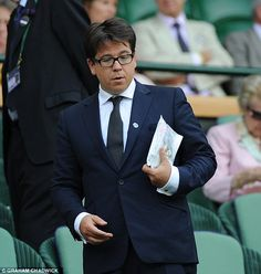 Michael McIntyre at Andy Murray Match