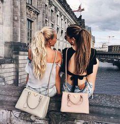 Imagen de girl, friends, and hair