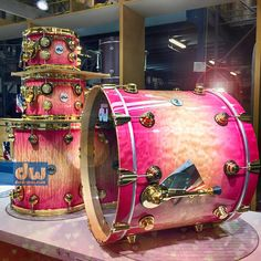 DW Valentine Drum Set