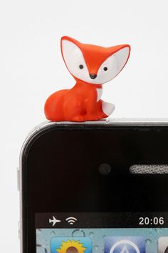 Animal Friend iPhone Charm #UrbanOutfitters