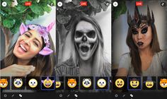 Facebook launches Augmented Reality selfie Halloween masks for Live video.   Source: https://techcrunch.com/2016/10/27/facebook-masks/