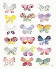 Giclee Print: Butterfly Kaleidoscope by Joelle Wehkamp : 20x16in