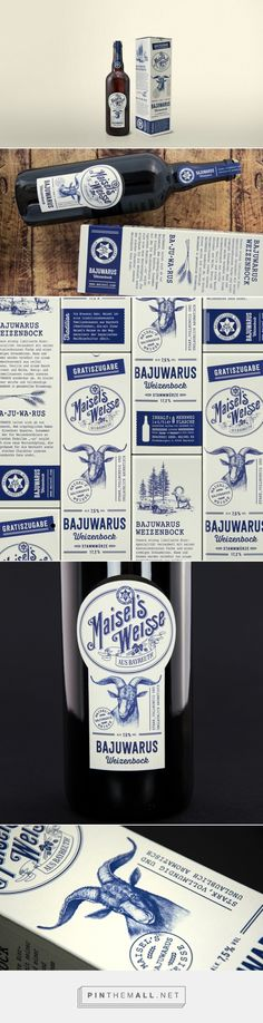 Packaging of the World is a package design inspiration archive showcasing the best, most interesting and creative work worldwide. Honey Packaging, Food Packaging Design, Bottle Packaging, Brand Packaging, Graphic Design Branding, Label Design, Package Design, Wine Logo, Bottle Design