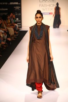 absolutely love this brown salwar by PAYAL KHANDWALA #indian #fashion