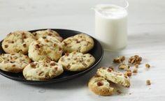 Recette Biscuits au Lait Ribot, aux noix et caramel au beurre salé