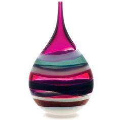 Siemon Caleb • Amethyst Teardrop Vase