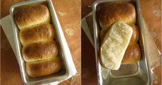 Hokkaido Milk Bread with Tangzhong ~ We Knead to Bake # 3 Bread Recipes, Baking Recipes, Hokkaido Milk Bread, Croissants, How To Make Bread, Bread Baking, Rolls, Sweets, Food