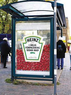 Heinz outdoor BTL