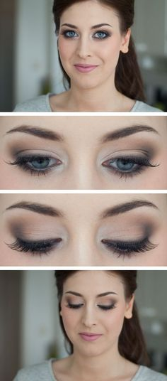 A neutral example, the crease/liner colour could be changed for navy. Very classic