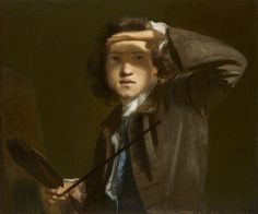 Joshua Reynolds, Sir Joshua Reynolds, vers 1747-1749 © National Portrait Gallery