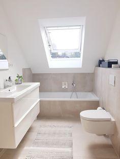 Small Bathroom 316377942573061512 - Unser renoviertes Badezimmer Source by reviveinterior Apartment Bathroom, Bathroom Interior, Small Bathroom, Bathroom Renovations, Scandinavian Bathroom, Small Bathroom Renovations, Bathroom Decor, Bathtub, Tile Bathroom