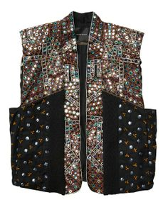 Special Embellished Boxy Fit Gilet > Womens Clothing > Gilets at Maison Scotch