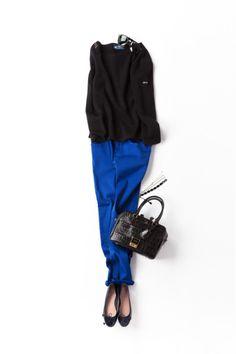 コーディネート詳細(気になっていた映画でも観に行こうかな。)| Kyoko Kikuchi's Closet|菊池京子のクローゼット Office Fashion, Work Fashion, Fashion Pants, Daily Fashion, Fashion Outfits, Womens Fashion, Casual Chic, Mode Outfits, Casual Outfits