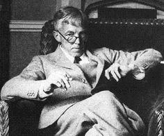 G.H. Hardy, English Mathematician - love the round glasses!