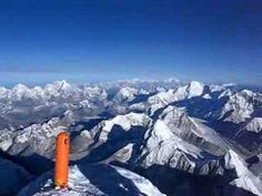360 degree panorama from the summit of Mount Everest