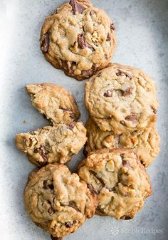 Browned Butter Chocolate Chunk Cookies Recipe | Simply Recipes (These are seriously good. With chunks of milk chocolate and the over the top deliciousness of browned butter in the dough.)