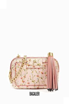 Guess Borsa a tracolla Jolie fiori in pelle Luxe FLOWER