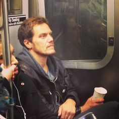 Michael caught riding the subway   I would so freak out seeing him, this is just too awesome. I would ask for an autograph and photo where ever he gets off. Doing it in a discrete manner of course.