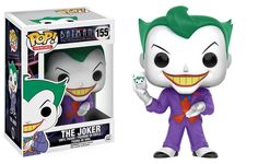 Funko Pop Heroes Batman The Animated Series Joker Vinyl Figure #155