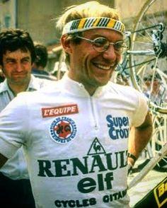 The Professor, Laurent Fignon  Such a smart rider !