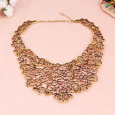 Tribunal égyptien creux métal totem rétro faux collier court collier N1040 – EUR € 7.67