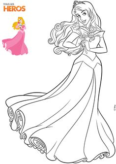 Looking for a Coloriage à Imprimer Disney A Imprimer. We have Coloriage à Imprimer Disney A Imprimer and the other about Coloriage Imprimer it free. Cinderella Coloring Pages, Barbie Coloring Pages, Disney Princess Coloring Pages, Disney Princess Colors, Animal Coloring Pages, Coloring Book Pages, Disney Princess Aurora, Princess Bubblegum, Pintar Disney