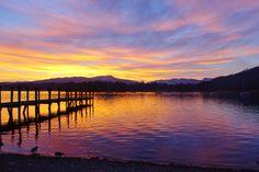 Sunset..Lake Windermere...Ambleside