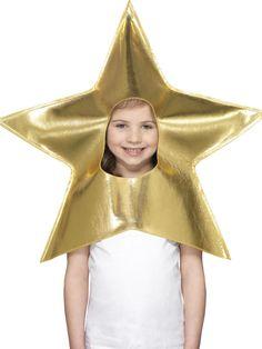 Sombrero de estrella dorada niño Navidad
