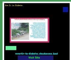 Que Es La Diabete 192539 - Aprenda como vencer la diabetes y recuperar su salud.