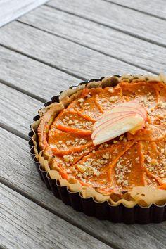 Pumpkin pie for Thanksgiving: vegan and gluten free
