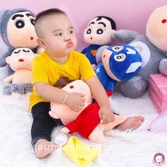 Nhìn hai đứa cưng chịu hổng nổi   Size 35cm  195k  0932793907  416/15/85A Dương Quảng Hàm P.5 Gò Vấp #shin #aodo #quanvang #gaubongdep #caubebutchi #gau #hcm #cute #baby