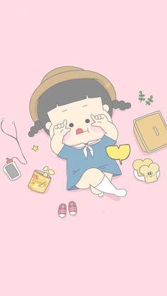 *✲゚*小黄人ʚɞ⋆* - 堆糖,美图壁纸兴趣社区 Kawaii Wallpaper, Pastel Wallpaper, Disney Wallpaper, Cute Illustration, Character Illustration, Cute Girl Drawing, Pretty Drawings, Fanarts Anime, Korean Art