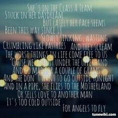 """The A-Team"" by Ed Sheeran - the spark that started the flame I suppose, just caught me at the right time in my life"