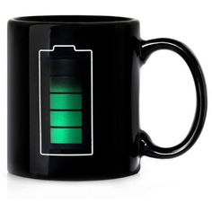 For your science-minded sister, who loves her mulled wine, consider the heat sensitive ceramic Thermal Battery Mug. It's designed to look completely black until you pour in liquid over 36°C. Then, by the magic of a science we don't fully understand (though your sis will), a battery icon appears, charging up and down with green power bars to match the level of your liquid. Science, you have truly outdone yourself.