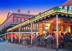 New Orleans Tourism, New Orleans Travel, New Orleans Cafe Du Monde, Visit New Orleans, Coffee Stands, Us Destinations, Roadside Attractions, Tours, Travel Goals