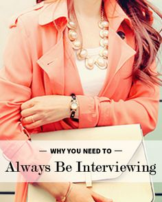 Looking for a job or internship? Always Be Interviewing