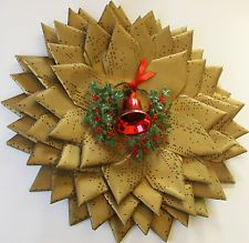 Vintage Computer Punch Card Wreath