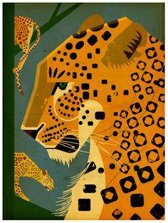 Dieter Braun, Digital Illustration. Ape on the Moon Contemporary Visual Culture blog. I like it.