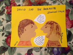 2 Samuel 1. David deals with the Amalekite who says that he has killed King Saul. Inexpensive, easy children's Bible lessons. Take a look and share!