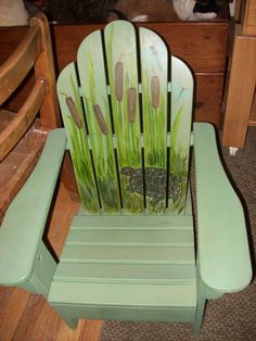 Adirondack Chair Painting Ideas U2013 Google Search | Ericu0027s Outside The Home |  Pinterest | Chair Painting, Paintings And Google