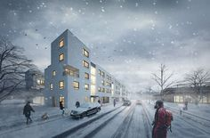 CGarchitect - Professional 3D Architectural Visualization User Community | Winter - Nowe Żerniki - Wroclaw