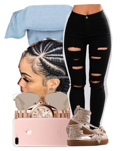 """""""144"""" by jalay ❤ liked on Polyvore featuring Christian Dior, Michael Kors and Puma"""